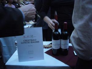 2011-Bordeaux Grand Cru tasting, San Francisco--A Lunch Bage