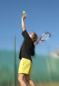 Tennis server