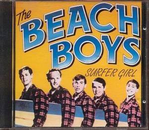 Early Beach Boys Album Cover--Surfer Girl